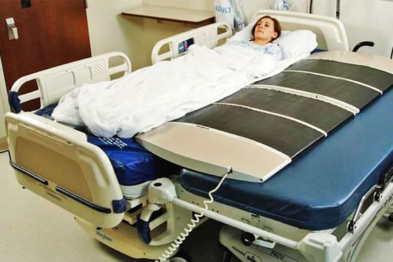 Ayuda autom tica que facilita al personal sanitario el for Cama 3d dibujo